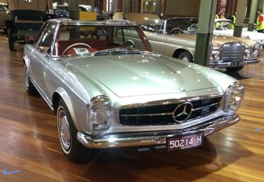 1970 Mercedes Benz 280SL Roaster 2+2 – SOLD