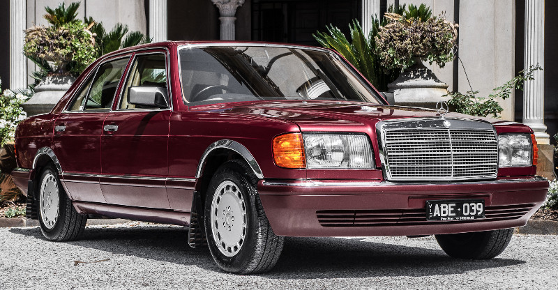 1988 Mercedes Benz 300SE – SOLD