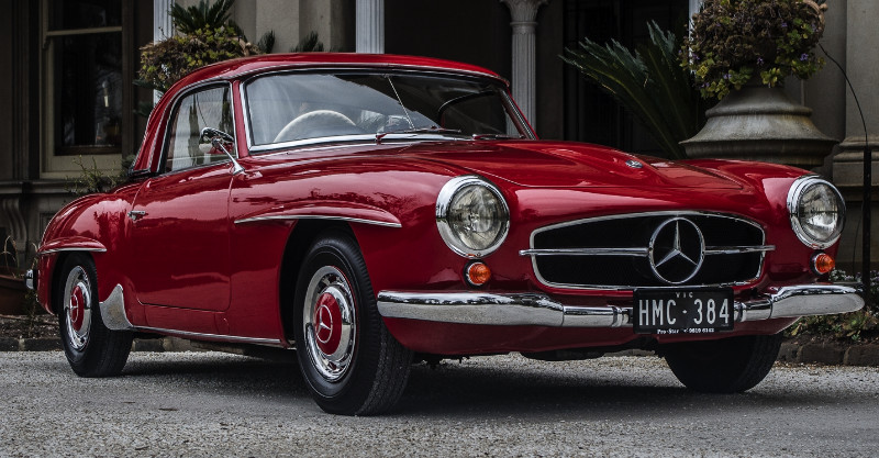 1961 Mercedes Benz 190SL – SOLD