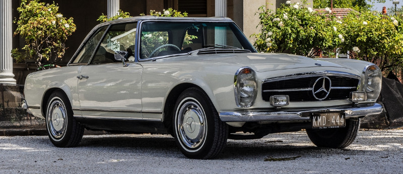 1970 Mercedes Benz 280SL – SOLD