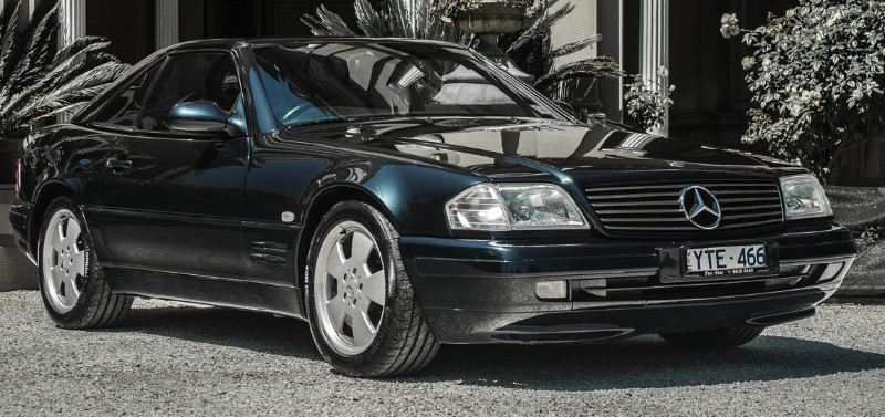 1999 Mercedes Benz SL320