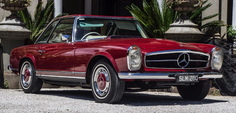 Mercedes Benz 280SL – SOLD