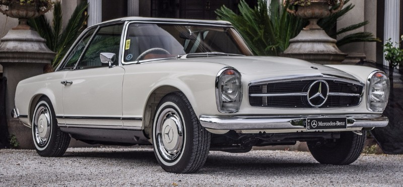 Mercedes Benz 280SL Multiple Outright Concours Winner