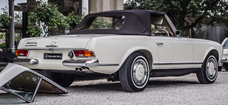 Mercedes benz 280sl multiple outright concours winner for Mercedes benz a1 service price