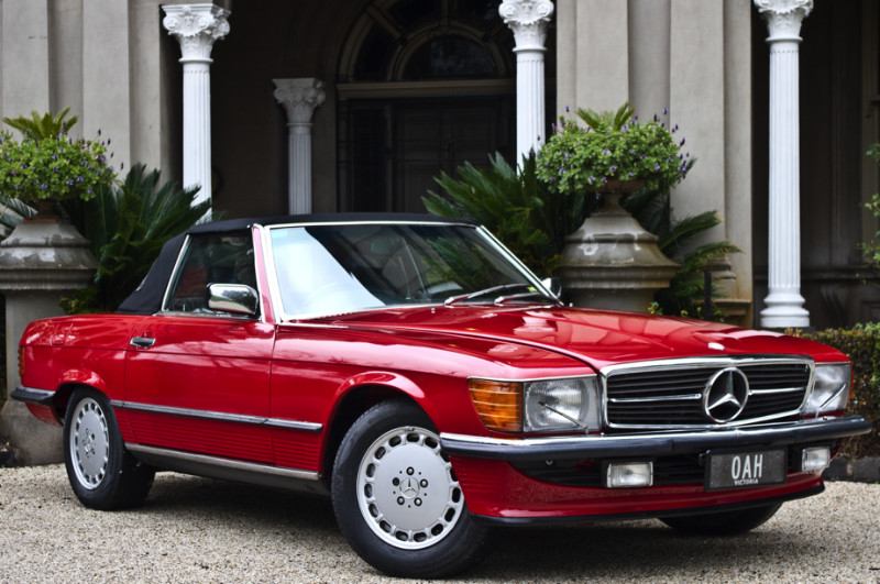 1988 Mercedes Benz 560SL – SOLD