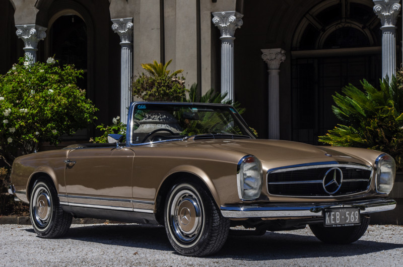 1969 Mercedes Benz 280SL – SOLD